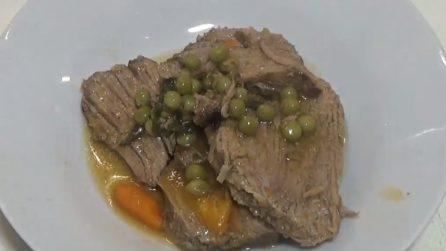 Arrosto di vitello con piselli: un piatto succulento che accontenterà tutti