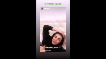 """Giulia Salemi a Walter Nudo: """"So che supererai anche questa"""""""