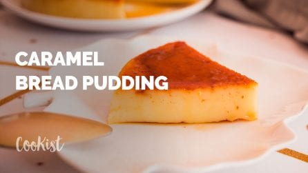 Caramel bread pudding: a decadent and popular dessert!