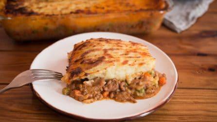 Cottage pie: la ricetta dello sformato di carne e patate super gustoso!