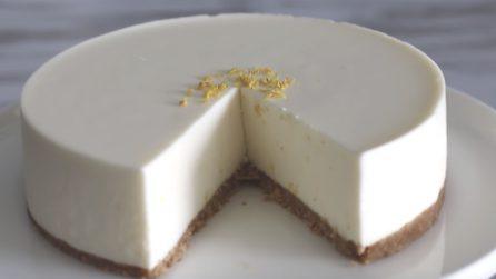 Cheesecake al limone senza cottura: un sapore delicato e fresco