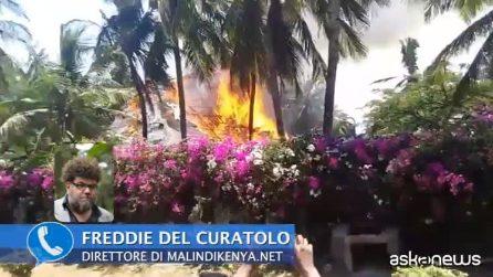 Kenya, tante case di italiani danneggiate nel rogo di Malindi