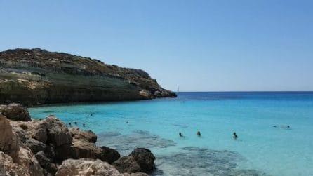 La spiaggia più bella d'Italia: l'acqua cristallina è mozzafiato