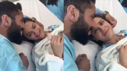 Il piccolo è appena nato: le immagini di un grande amore