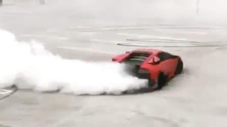 Spettacolo vero a bordo di una meravigliosa Lamborghini Murcielago