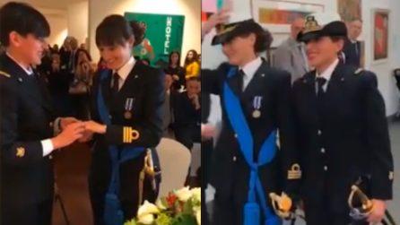 La Spezia, prima unione civile fra due donne della Marina