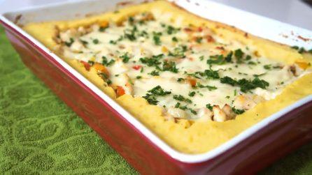 Sformato di patate con pollo e peperoni: un piatto unico invitante e completo
