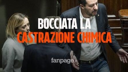Castrazione chimica: il M5s boccia la proposta di Fratelli d'Italia e Lega