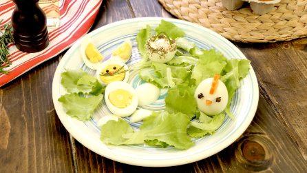Uova sode: 3 decorazioni deliziose per Pasqua!