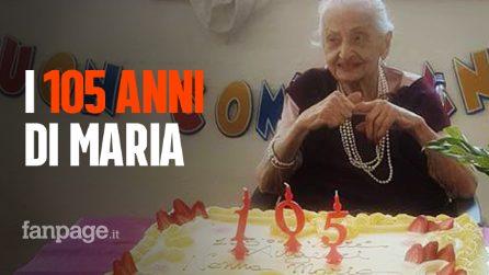 Festa grande per i 105 anni di Nonna Maria, festeggiati con il sorriso nella sua amata Milano