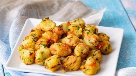 Frittelle di verdure: bocconcini soffici pieni di gusto!