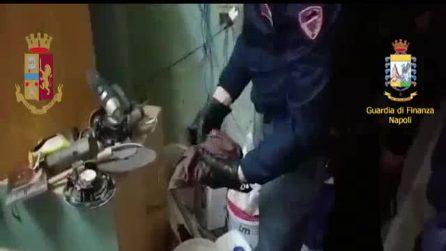 Polizia e Guardia di Finanza trovano armi e droga al Rione Berlingieri con l'aiuto dei cani