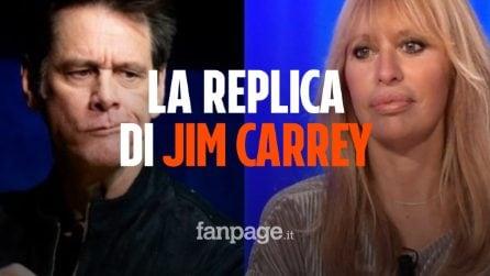 """Jim Carrey risponde ad Alessandra Mussolini sulla vignetta: """"Sconcertante sia al governo"""""""
