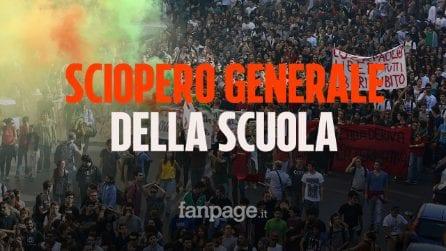 Sciopero generale della scuola: lezioni a rischio in tutta Italia. Ecco quando