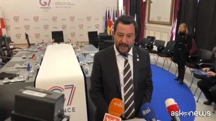"""Nave Sea Eye, Salvini: """"Sono sicuro che il problema lo risolverà la Germania"""""""