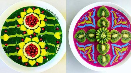 Gli smoothie più colorati che abbiate mai visto: resterete ipnotizzati!