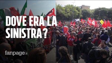 """Torre Maura, antifascisti e Casapound in piazza: """"Dove era la sinistra nei giorni scorsi?"""""""