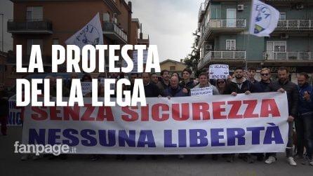 """La Lega in piazza a Casalotti contro i rom che non ci sono: """"Arriveranno? Non sappiamo nulla'"""