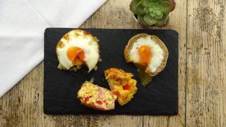 3 deliziose ricette con le uova usando uno stampo per muffin!