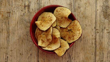 4 gustose ricette per fare le chips di frutta al forno!