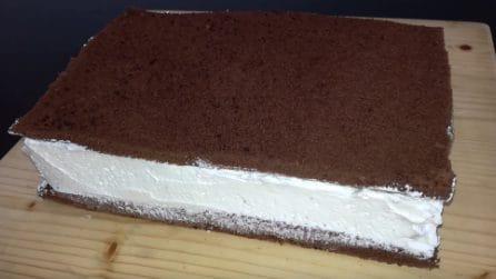 Una merenda gigante cioccolato e panna: i più piccoli impazziranno
