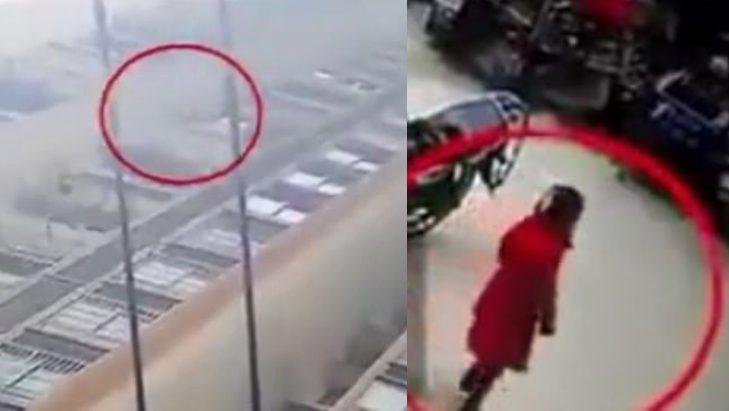 Risultati immagini per Bimba di 6 anni cade dal 26esimo piano: si rialza e cammina