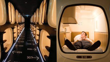 Hotel Capsula: arrivano dal Giappone gli alberghi modulari economici dove dormire