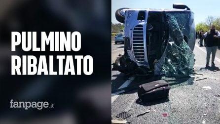 """Incidente sull'A1, la testimonianza di Augusto: """"Noi i primi a intervenire per salvare i bambini"""""""