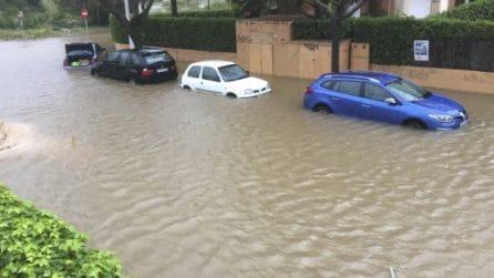 Inondazioni dopo le forti piogge: la situazione critica in Spagna