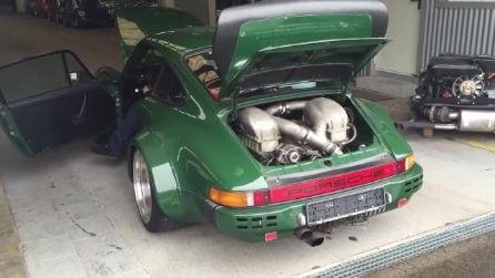 Il canto del motore della Porsche Kremer 934: che spettacolo