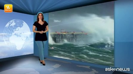 Previsioni meteo per mercoledì, 24 aprile