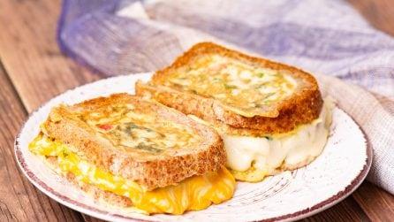 Omelette nel pane: un'idea veloce e piena di gusto!