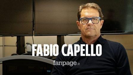 """Capello: """"Italiane flop in Europa ma l'Atalanta sembra l'Ajax"""""""