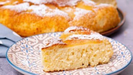 Torta di mele in padella: soffice e gustosa senza l'uso del forno!