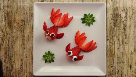 4 modi meravigliosi per decorare un piatto con la frutta!