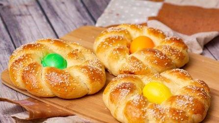 Treccine dolci di Pasqua: belle, sfiziose e colorate!