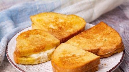 Pane in carrozza: l'idea gustosa per riutilizzare il pane vecchio!