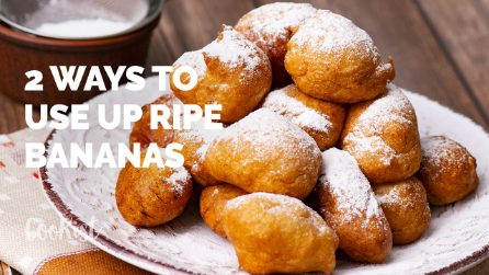 How to use ripe bananas: 2 delicious mini recipes!