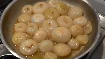 Cipolle in agrodolce: ottime come contorno o antipasto