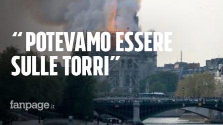 """Incendio cattedrale Notre Dame, la testimone italiana a Parigi: """"Siamo salvi per un soffio"""""""