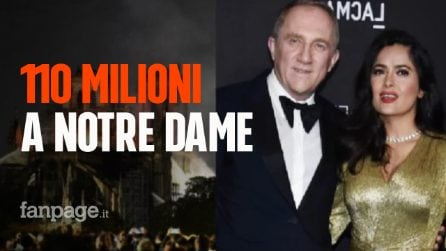 incendio cattedrale Notre Dame, magnate donerà 110 milioni di euro per la ricostruzione