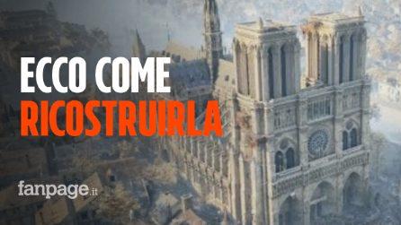 Notre-Dame: dopo l'incendio, la ricostruzione grazie alla serie Assassin's Creed