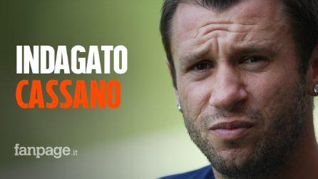 Antonio Cassano indagato: il vigile lo multa e lui gli strappa il libretto dalle mani