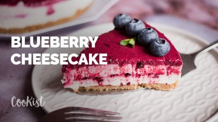 Blueberry cheesecake: a delicious cake that you must try!