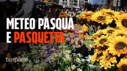 """Meteo weekend Pasqua e Pasquetta: """"boom estivo"""" con sole e caldo, ma non mancheranno nuvole e piogge"""