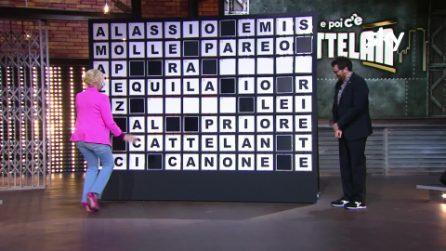 """Antonella Clerici e Alessandro Cattelan, la gag a EPCC: """"Fa schiuma ma non è un sapone"""""""