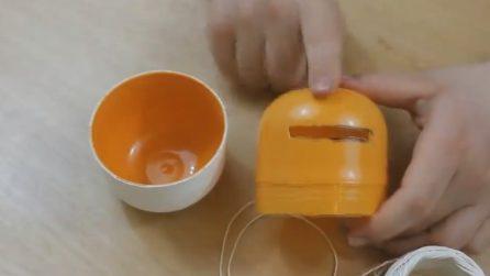 Come riutilizzare il contenitore delle uova di Pasqua
