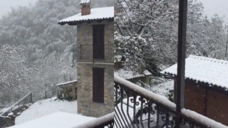 Neve anomala in Italia: il Nord Est regala scenari invernali
