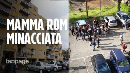 """Roma, casa assegnata a mamma rom. Minacce dell'estrema destra: """"Zingari di m***a"""""""