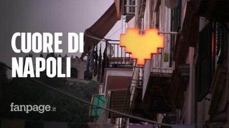 """""""Cuore di Napoli"""" : i Quartieri Spagnoli diventano un'installazione artistica"""